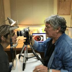 אבחון בגלגל העין - יוסי קיטרו